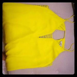 Dress Bright yellow